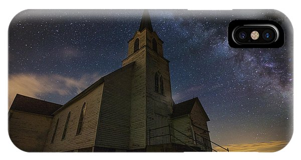 Lutheran iPhone Case - Oslo Milky Way  by Aaron J Groen