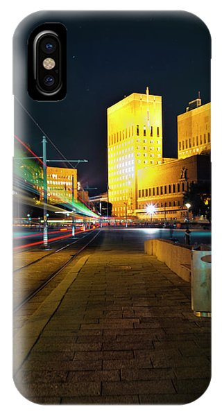 Oslo Town Hall IPhone Case