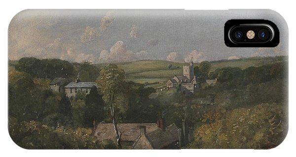 English Village iPhone Case - Osmington Village by John Constable