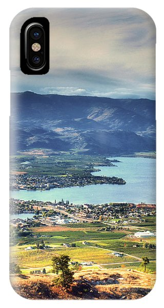 Osoyoos Lake 2 IPhone Case