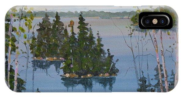Osprey Island Study IPhone Case
