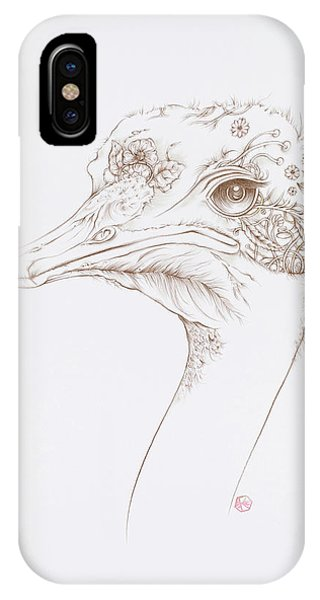 Ostrich IPhone Case