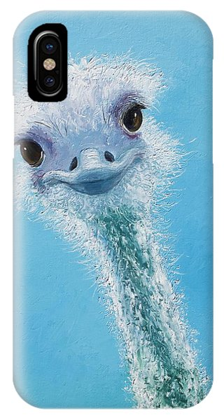 Ostrich Painting IPhone Case
