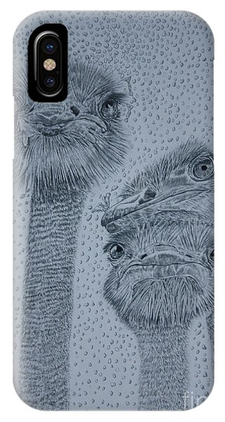 Ostrich Umbrella IPhone Case