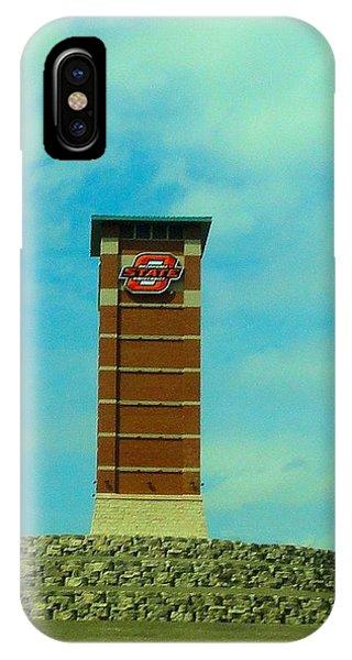 Oklahoma University iPhone Case - Oklahoma State University Gateway To Osu Tulsa Campus by Janette Boyd