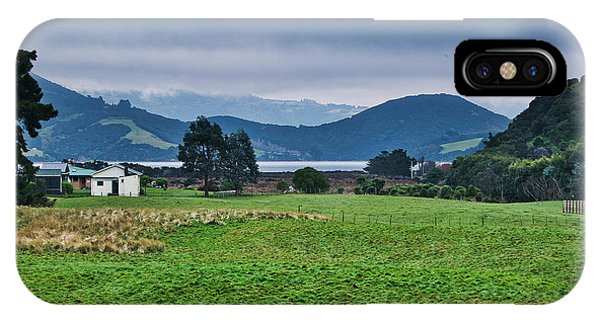 IPhone Case featuring the photograph Otago Peninsula I - New Zealand by Steven Ralser