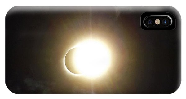 Otherworldly Eclipse-leaving Totality IPhone Case