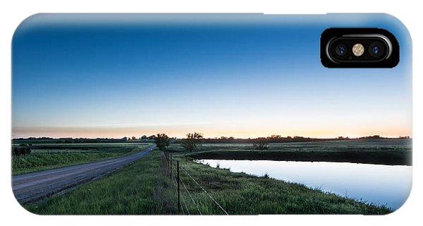 Otoe Plains Sunset IPhone Case