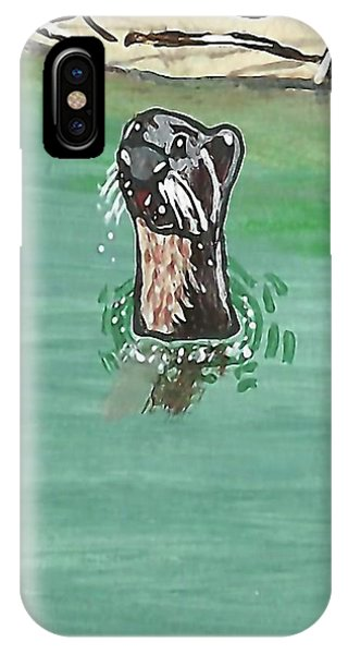 Otter In Amazon River IPhone Case