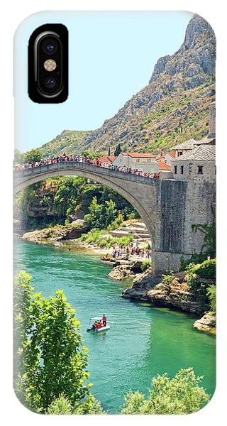 Mostar iPhone Case - Ottoman Bridge by Sally Weigand