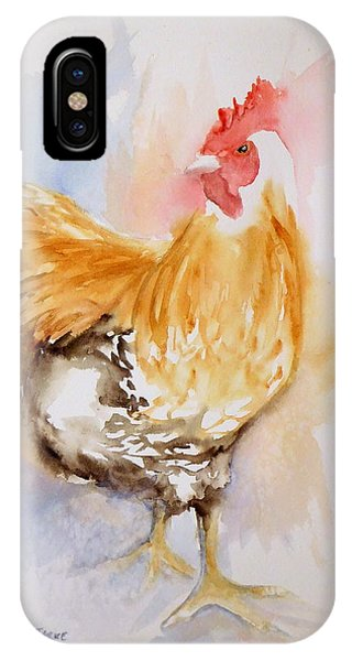 Our Buff Rooster  IPhone Case