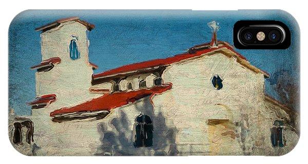 Our Lady Of La Salette Mission Paint IPhone Case