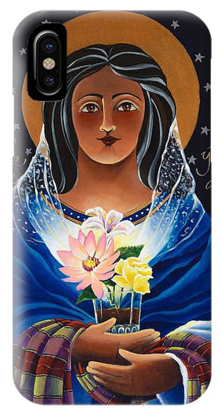 Our Lady Of Light - Help Of The Addicted - Mmlol IPhone Case