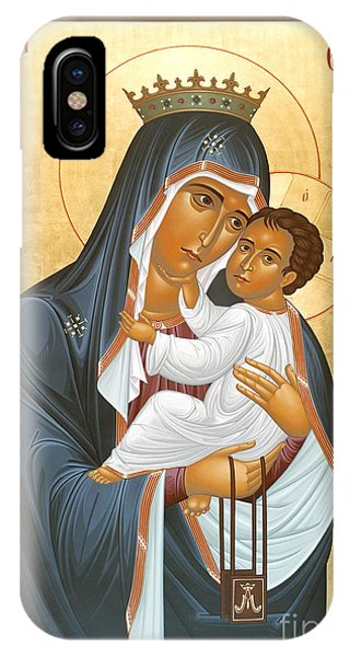 Our Lady Of Mount Carmel - Rlolc IPhone Case