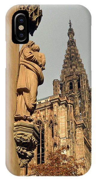 Our Lady Of Strasbourg IPhone Case