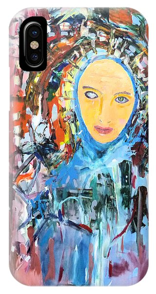 Our Lady Of The Left Eye IPhone Case