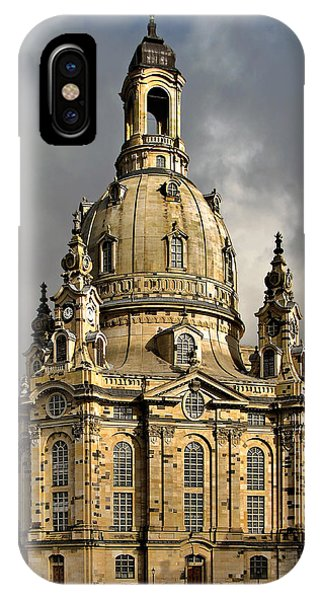 Lutheran iPhone Case - Our Lady's Church Of Dresden by Christine Till