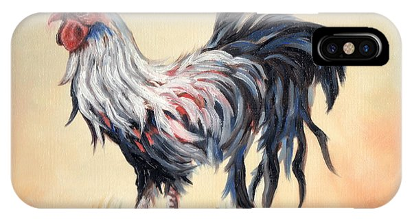 Our Rooster Family IPhone Case