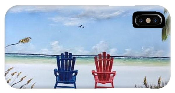 Our Spot On Siesta Key IPhone Case