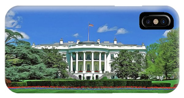 iPhone Case - Our White House by Harry Warrick