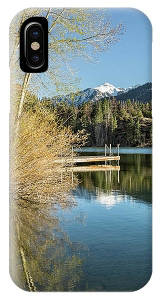 IPhone Case featuring the photograph Ouray County Postcard Scene by Denise Bush