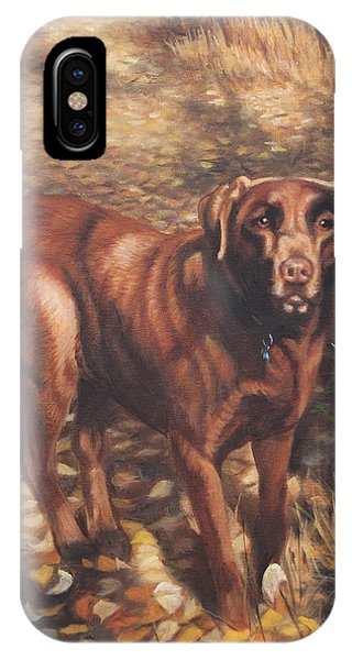 IPhone Case featuring the painting Out For A Walk #2 by Tammy Taylor