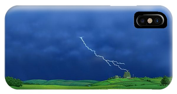 Out Of The Blue IPhone Case