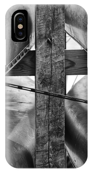 Old Rugged Cross iPhone Case - Out To Dry by Christi Kraft
