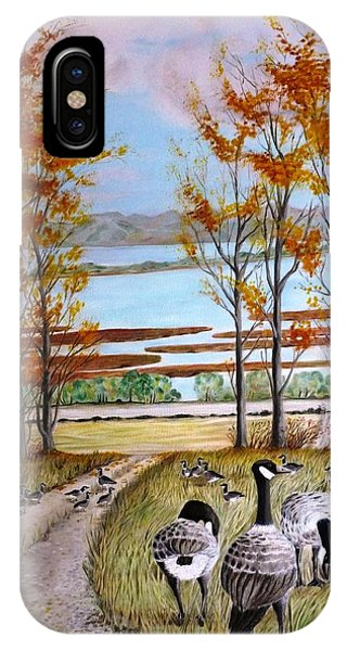 Outardes Au Repos IPhone Case