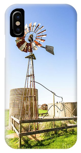 Rural iPhone Case - Outback Australian Farm Mill by Jorgo Photography - Wall Art Gallery