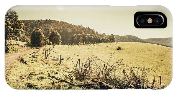 Rural iPhone Case - Outback Bound by Jorgo Photography - Wall Art Gallery