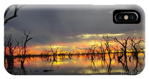Outback Sunset IPhone Case