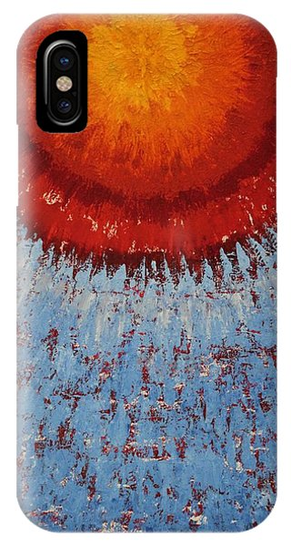 Outburst Original Painting IPhone Case