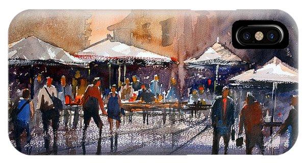 Outdoor Market - Rome IPhone Case