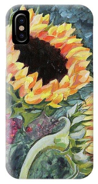 Outdoor Sunflowers IPhone Case