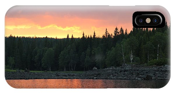 Outdoors In Norway.  IPhone Case