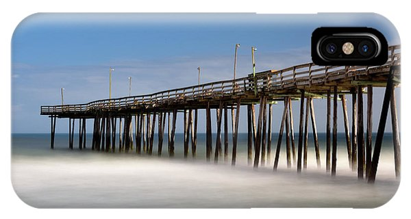 Outer Banks Pier IPhone Case