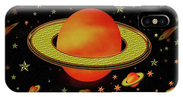 Outer Harvest Moons IPhone Case
