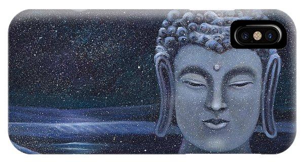 Winter Buddha IPhone Case