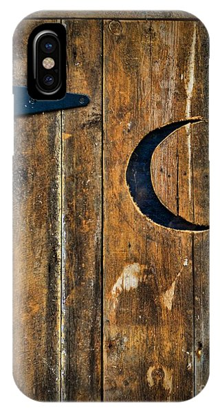 Toilet iPhone Case - Outhouse Door  by Paul Ward