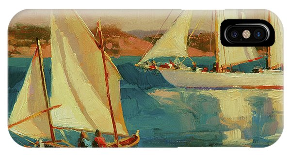 Whidbey iPhone Case - Outing by Steve Henderson