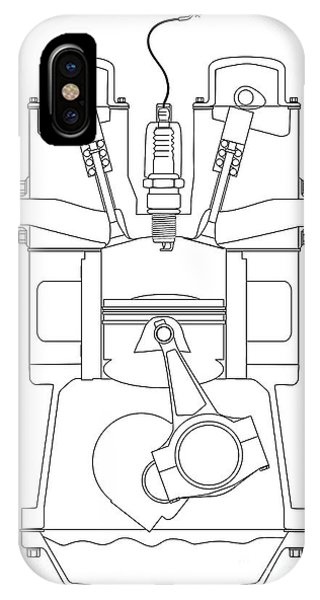 Engine Cutaway Iphone Cases Page 2 Of 2