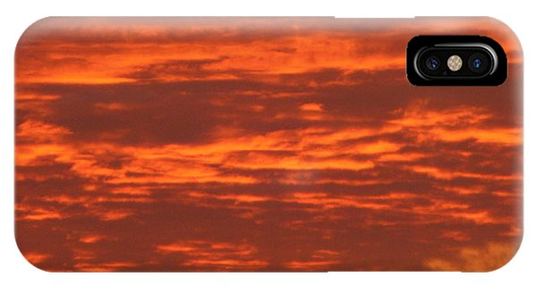 Outrageous Orange Sunrise IPhone Case