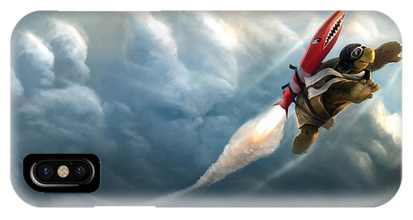 Outrunning The Clouds IPhone Case