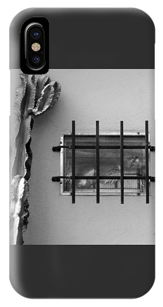 Outsiders - Cactus By The Window IPhone Case