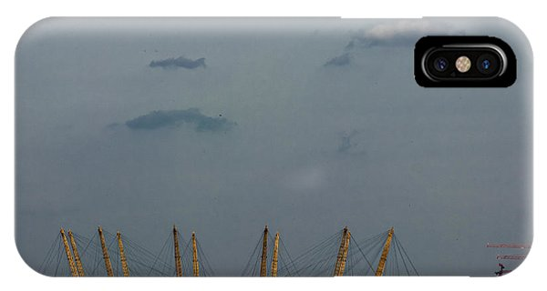 North London iPhone Case - Over The Dome by Martin Newman