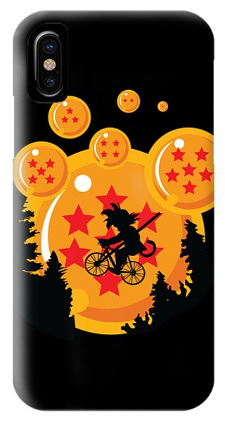 IPhone Case featuring the digital art Over The Moon by Christopher Meade