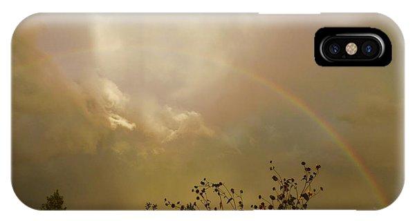 Over The Rainbow Garden IPhone Case