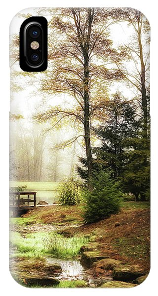 Foliage iPhone Case - Over The River by Tom Mc Nemar