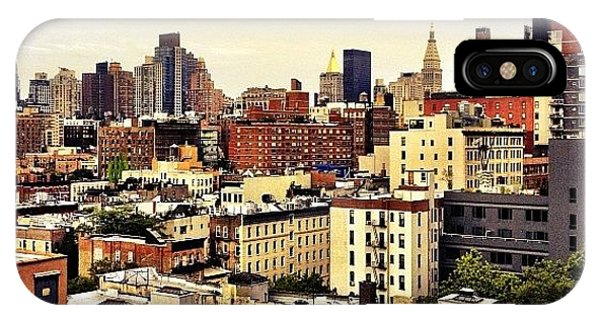 Over The Rooftops Of New York City IPhone Case